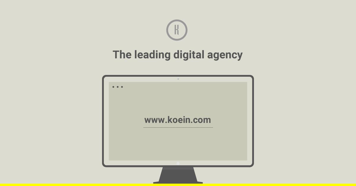 Koein • Digital agency, Web design, Lebanon, mobile apps, Qatar